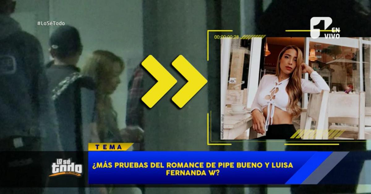¿Más pruebas del romance de Luisa Fernanda W y Pipe Bueno?