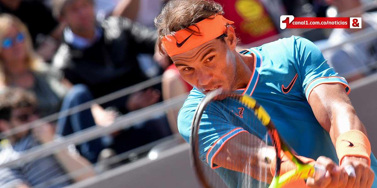 Nadal arrasa con Jeremy Chardy en su debut del Master 1000 de Roma