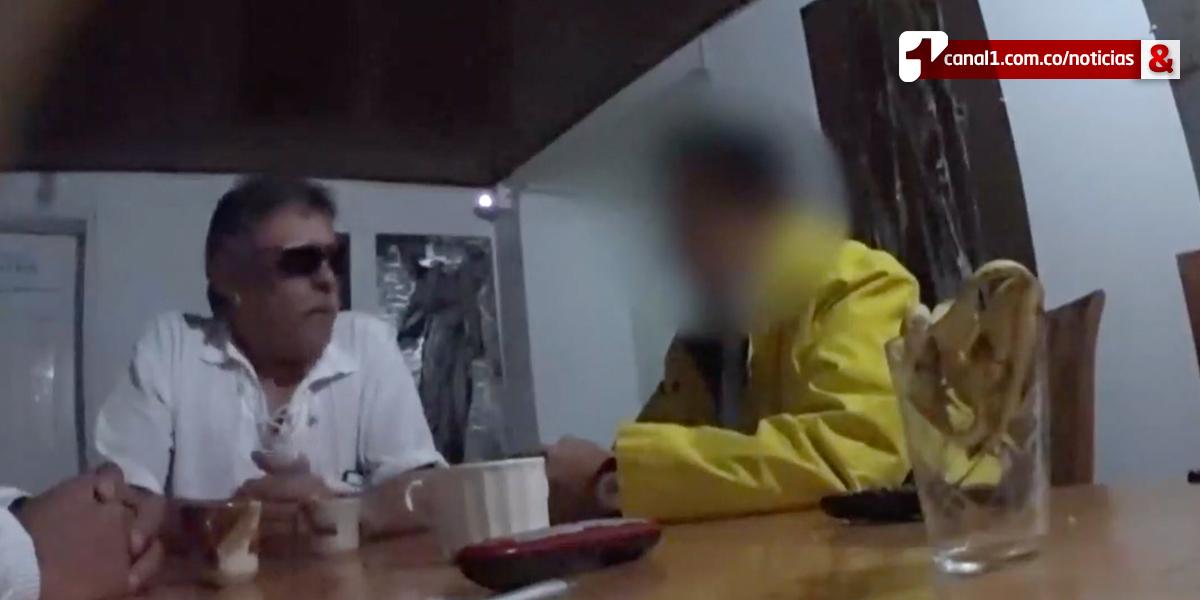 Este es el video de la negociación en la que fue grabado Jesús Santrich