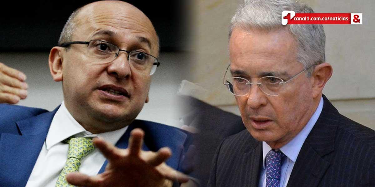 Exfiscal Montealegre acusa a Uribe de querer incriminarlo con el 'Cartel de la Toga'