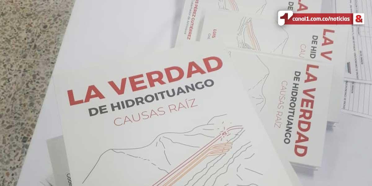 Responsabilidad de la ANLA en contingencia: Gobernador de Antioquia en libro sobre Hidroituango