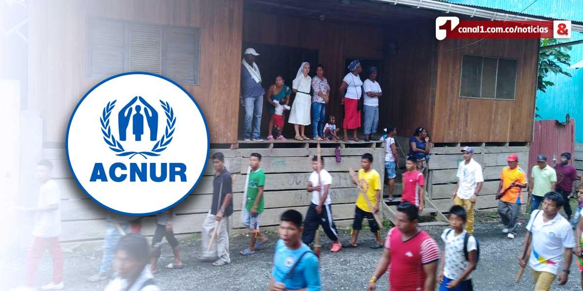 Acnur solicita 'protección urgente' para población indígena en Juradó, Chocó