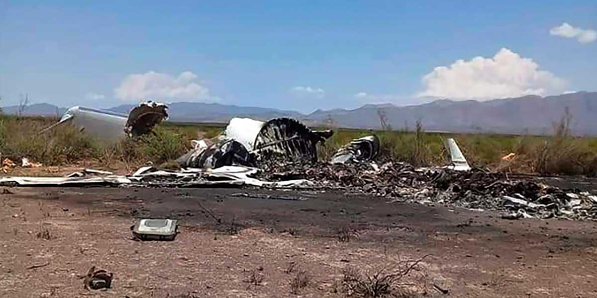 Accidente de avión privado reportado desaparecido deja 14 muertos en México