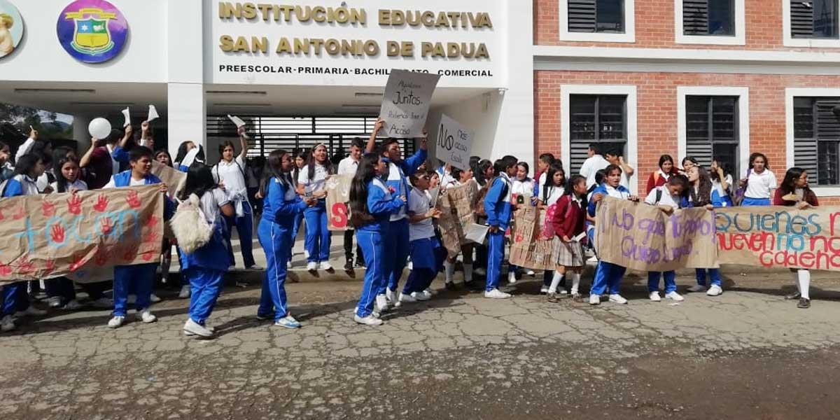 Docente y rector son señalados de acoso sexual en Timbío, Cauca