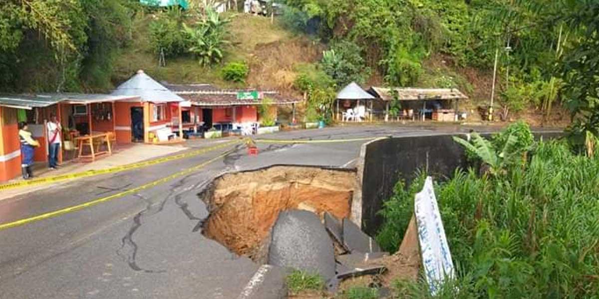 Se presentan emergencias por lluvias en cuatro municipios de Antioquia