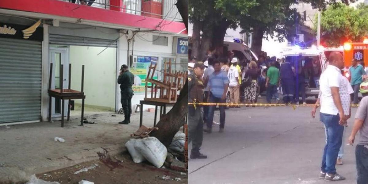 Artefacto explosivo deja 12 heridos en zona metropolitana de Cúcuta