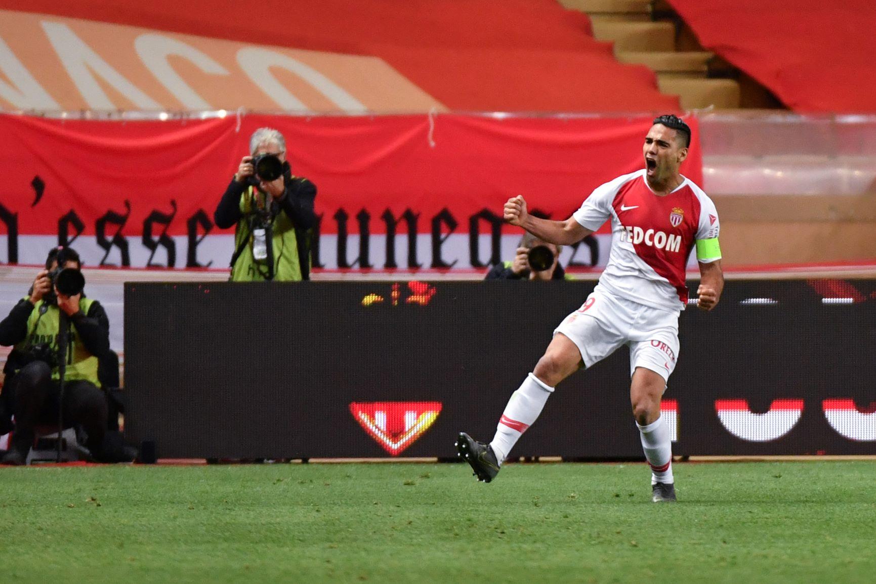(Video) Con gol de Falcao, el Mónaco quedó prácticamente a salvo del descenso en Francia