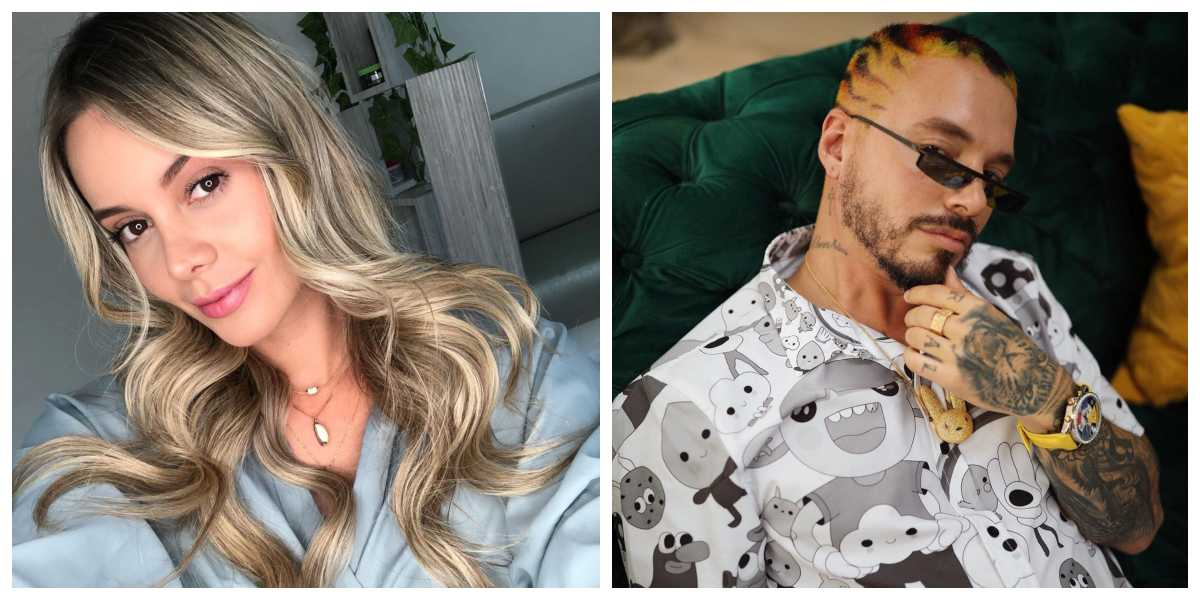 """""""Disfrutamos de los dos y superamos la inmadurez"""", Alejandra Buitrago habla de su relación con J Balvin"""