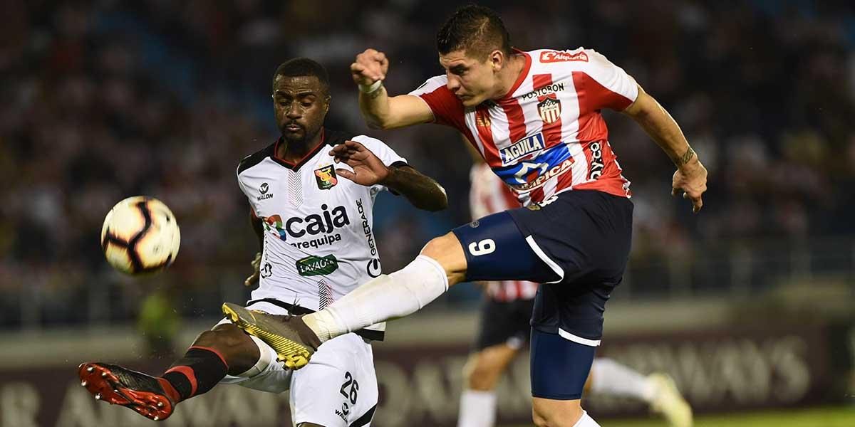 Melgar vence 1-0 al Junior y consigue un cupo a la Copa Sudamericana
