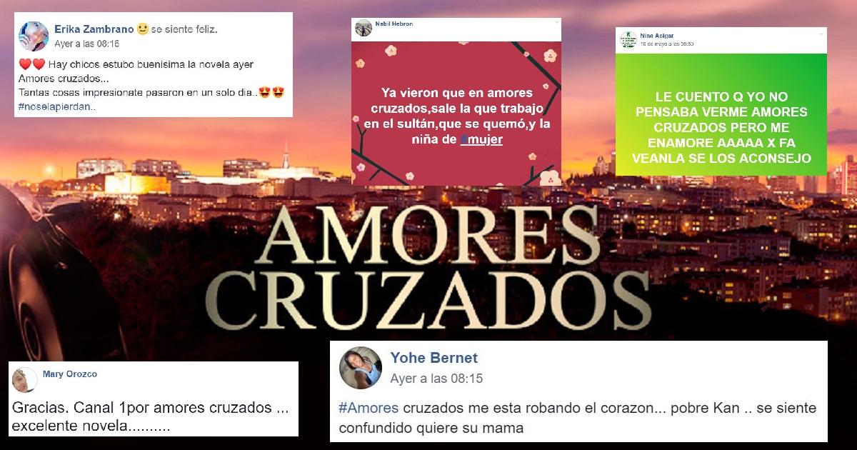 Primeras reacciones de Amores Cruzados tras su lanzamiento en Canal 1