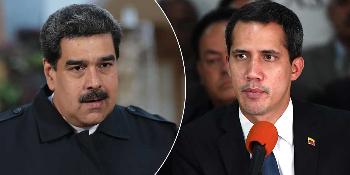 Guaidó anuncia reanudación de diálogo con Gobierno de Maduro en Barbados