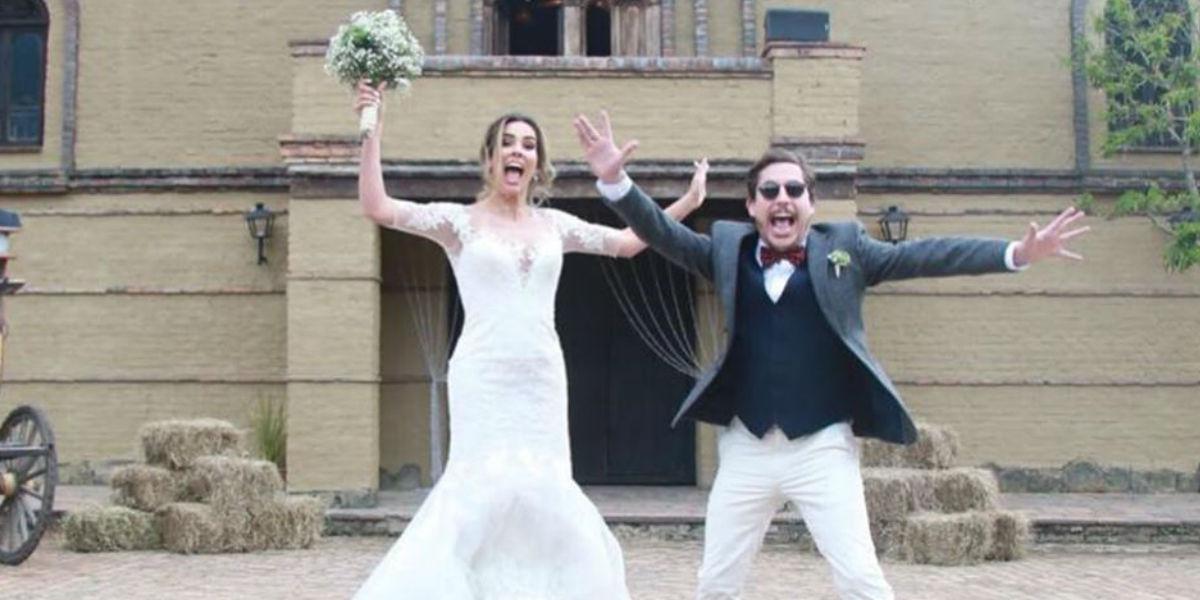 Alejandro Riaño se casó y así fue la ceremonia en la que se vieron nuevas parejas de famosos