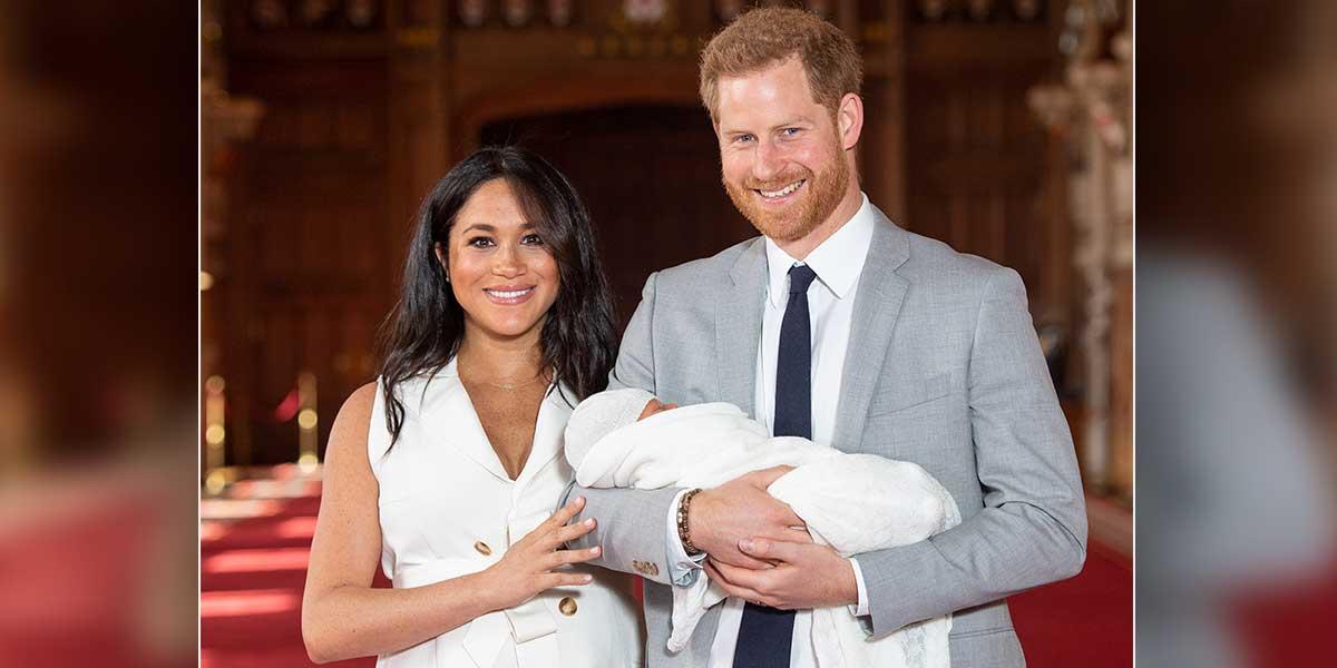 El príncipe Enrique y Meghan presentan a su primer hijo en Windsor