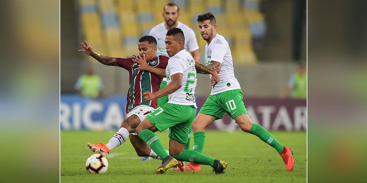 Hoy Nacional buscará remontar marcador ante Fluminense en Medellín