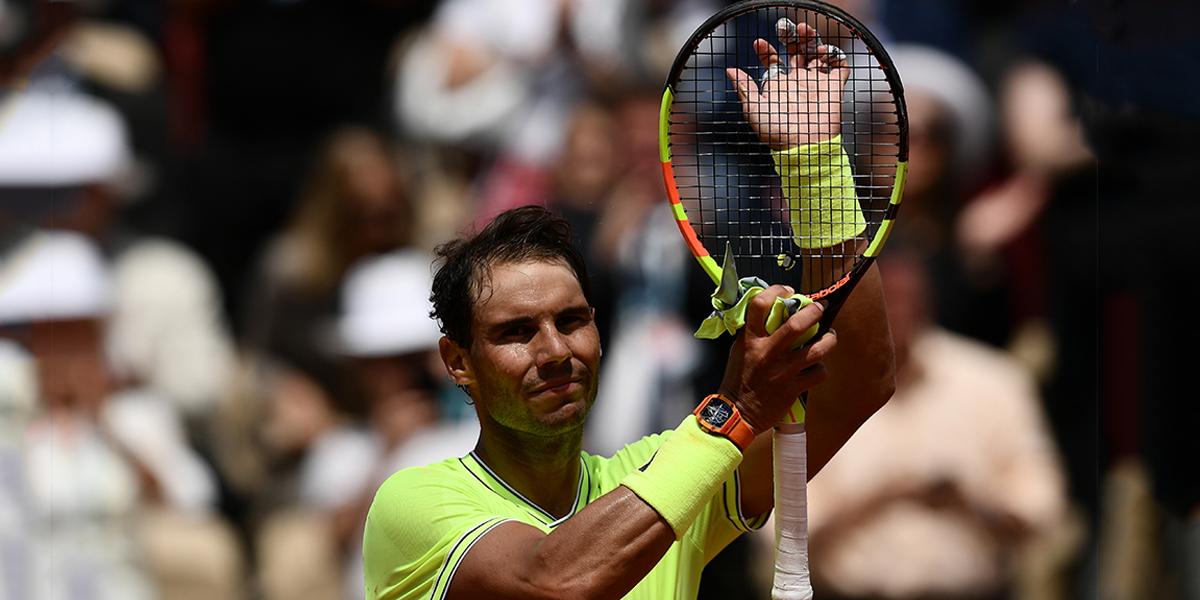 Rafa Nadal mantiene su paso firme en el Roland Garros