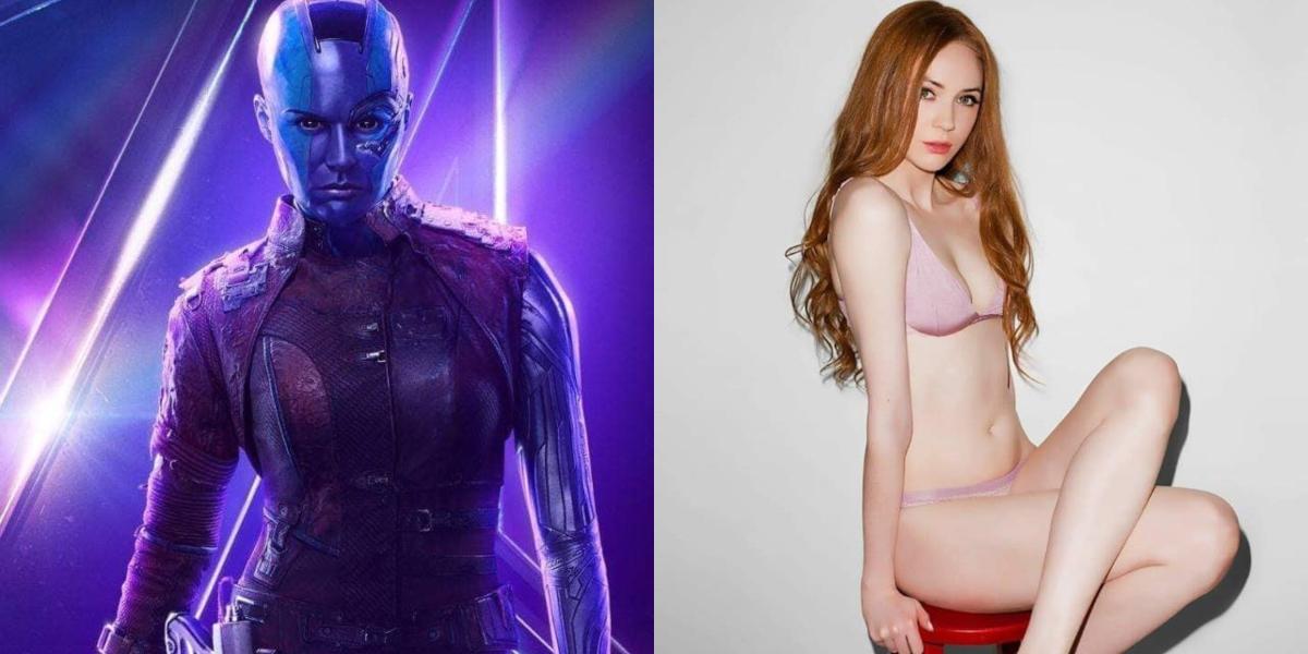 'Avengers: Endgame': Las sensuales imágenes de la actriz que interpreta a Nébula