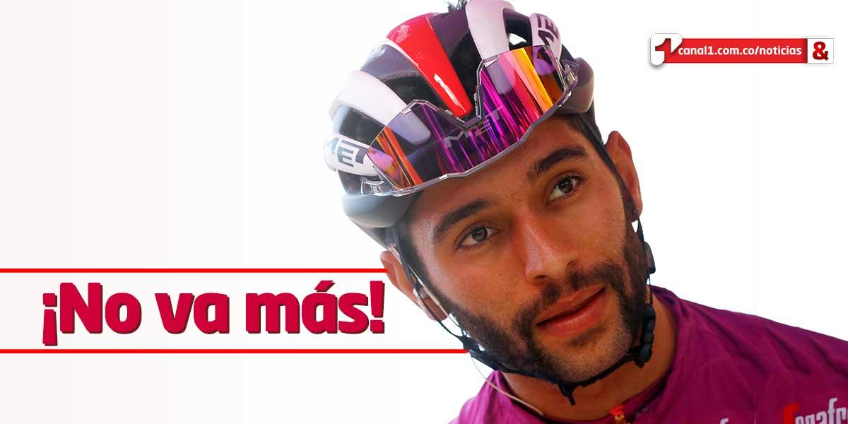 Fernando Gaviria abandona el Giro de Italia