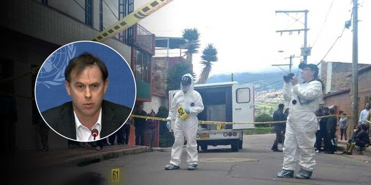 Fuerte aumento de asesinatos de líderes sociales alarma a la ONU