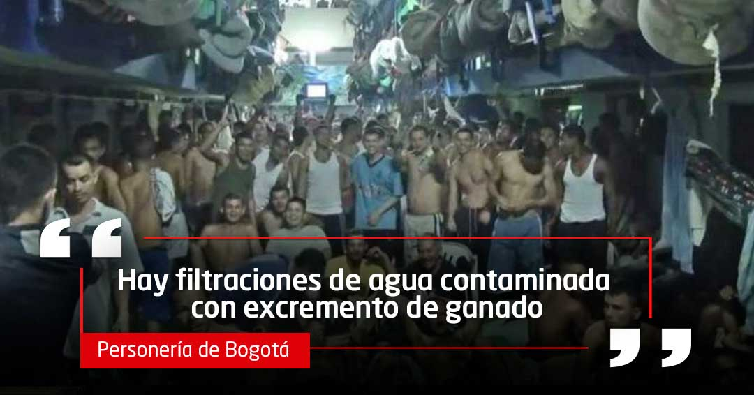 Personería denuncia grave crisis sanitaria en cárcel La Picota