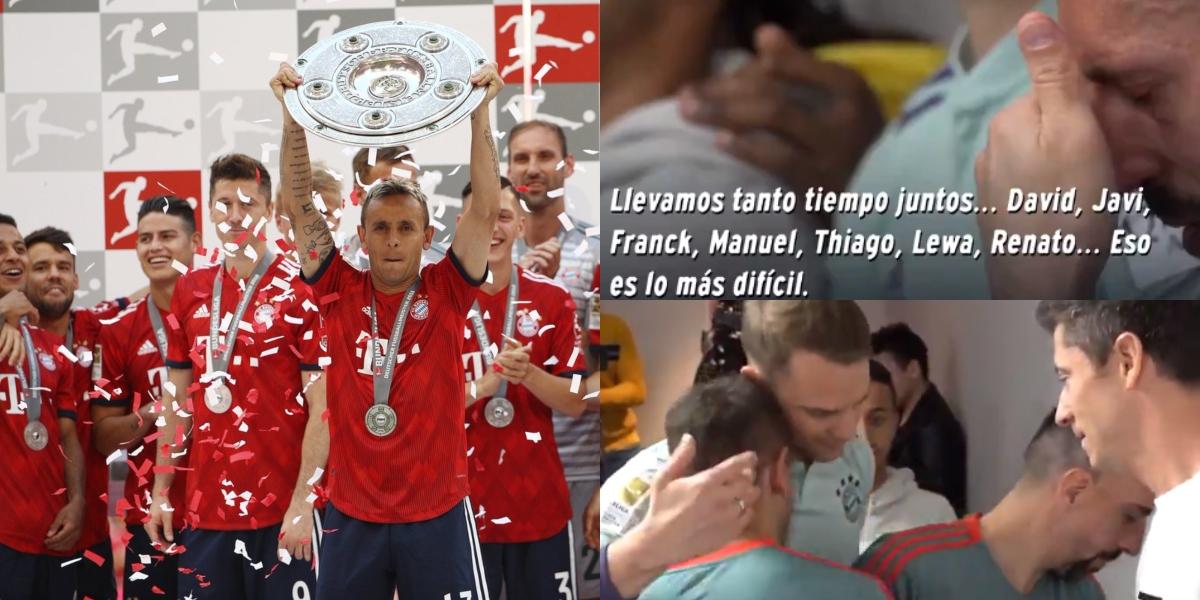 La conmovedora despedida de un jugador del Bayern Múnich