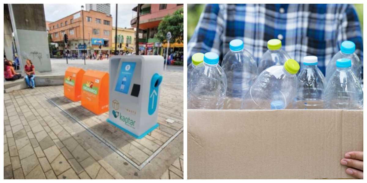 Bonos a cambio de botellas, así será el primer contenedor inteligente de reciclaje que tendrá Medellín