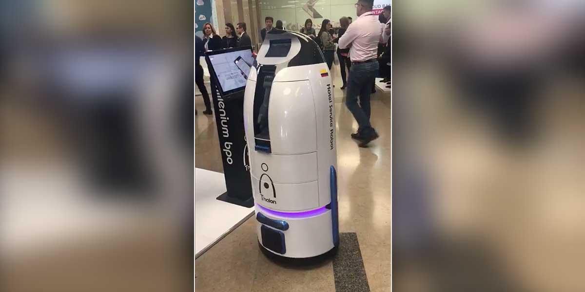 Colombia incursiona en la creación de robots de servicio con Thalon