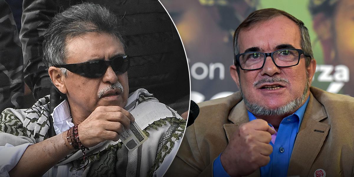 Santrich critica cuestionamientos de Timochenko a Iván Márquez