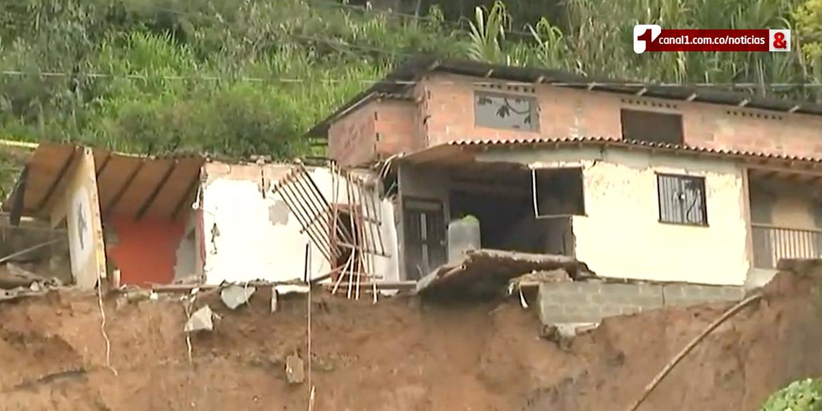 Derrumbe en Caldas, Antioquia
