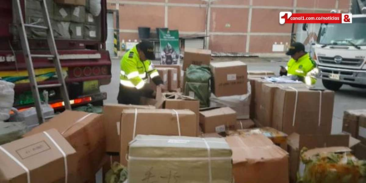 Hallan contrabando por más de $2000 millones en Cota, Cundinamarca