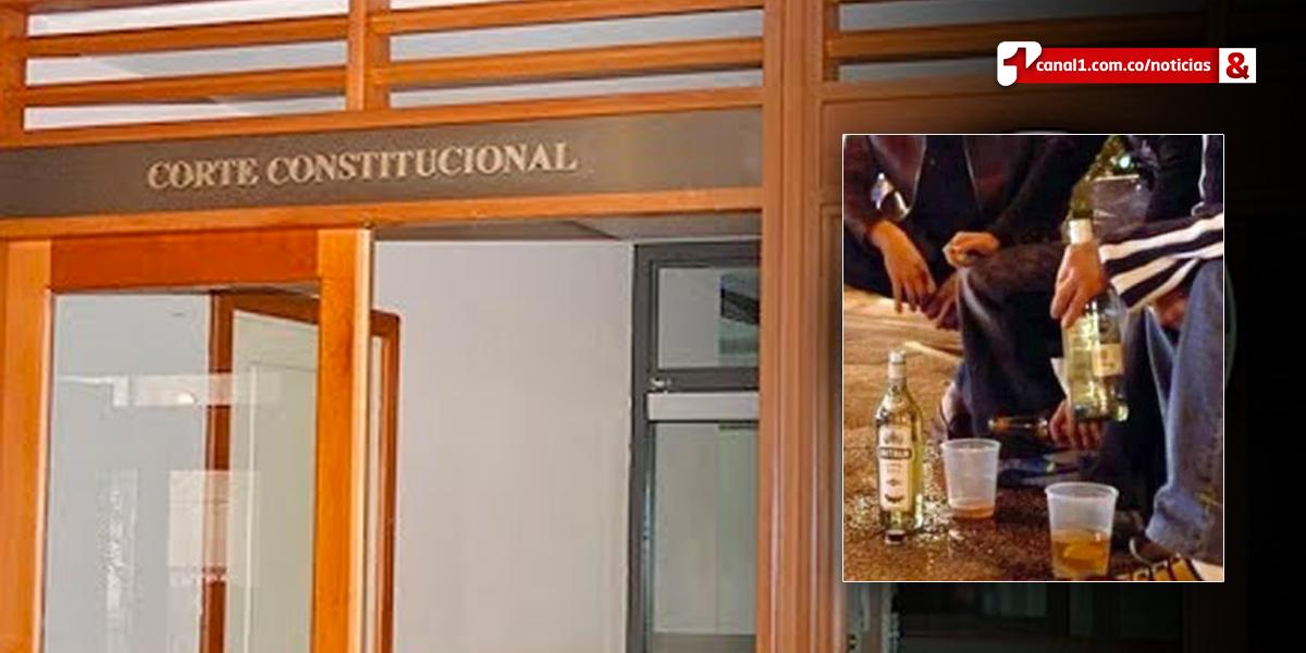 Corte explica fallo sobre prohibición de consumo de alcohol o sustancias psicoactivas