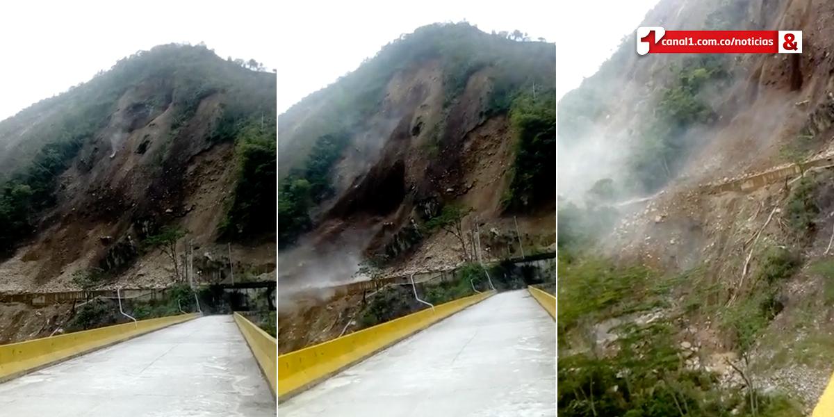 Nuevo derrumbe en el kilómetro 58 demorará apertura de vía Bogotá-Villavicencio