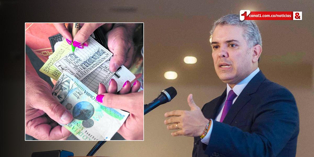 Duque pide a bancos permitir a afectados de 'gota a gota' poder acceder a créditos