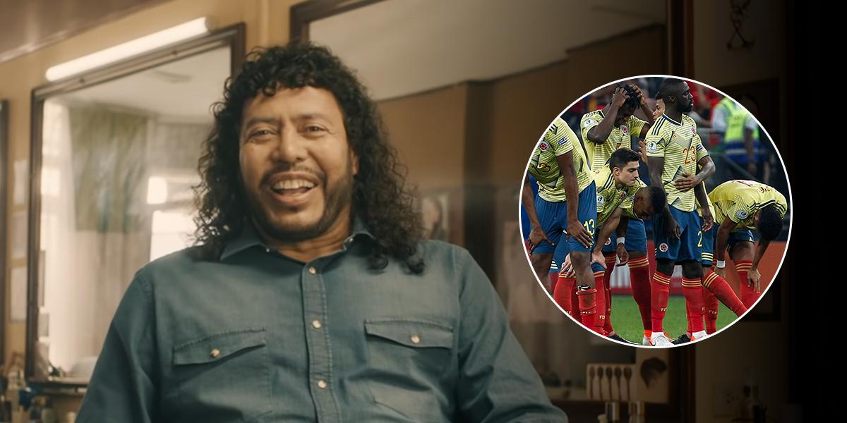 Colombia quiere ver a René Higuita calvo