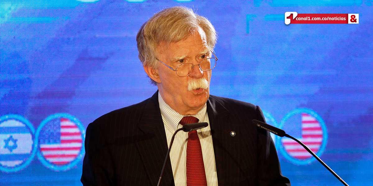 Bolton afirma en Jerusalén que Trump está dispuesto a una negociación nuclear con Irán