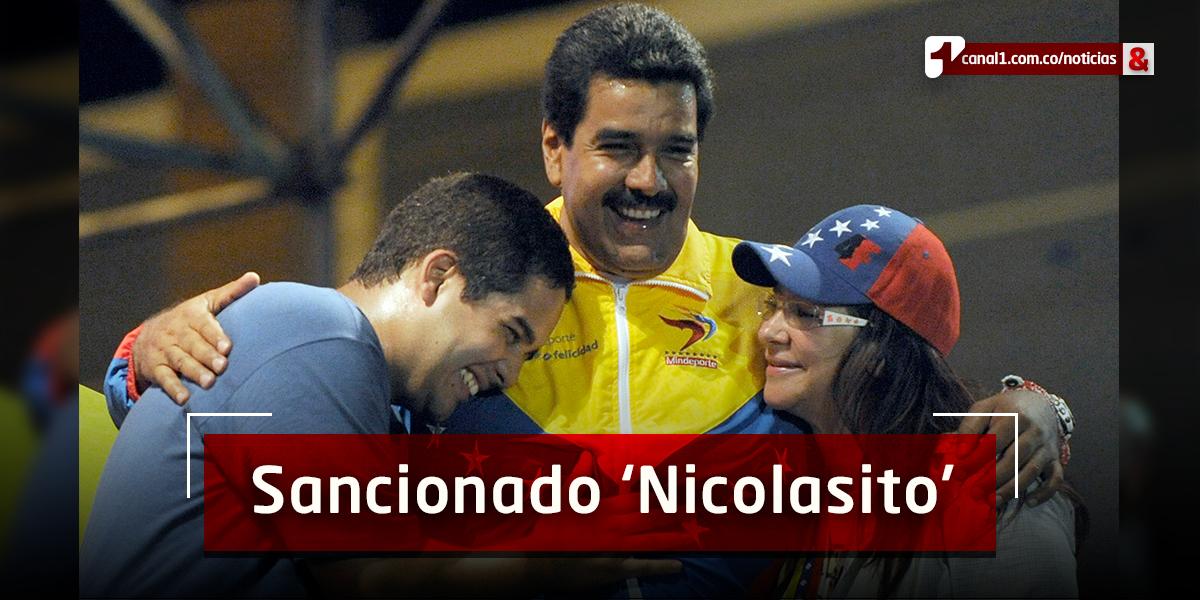 EE. UU. impone sanciones al hijo de Nicolás Maduro