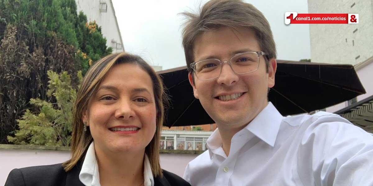 Miguel Uribe y Ángela Garzón alistan coalición a la que se unirían cinco partidos