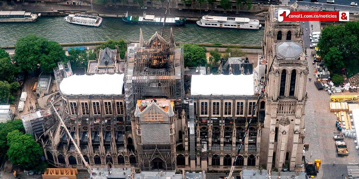 Justicia descarta que el fuego de Notre Dame tuviera un origen criminal