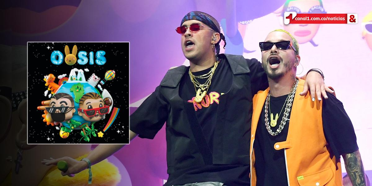 J Balvin y Bad Bunny lanzan el álbum conjunto 'Oasis'