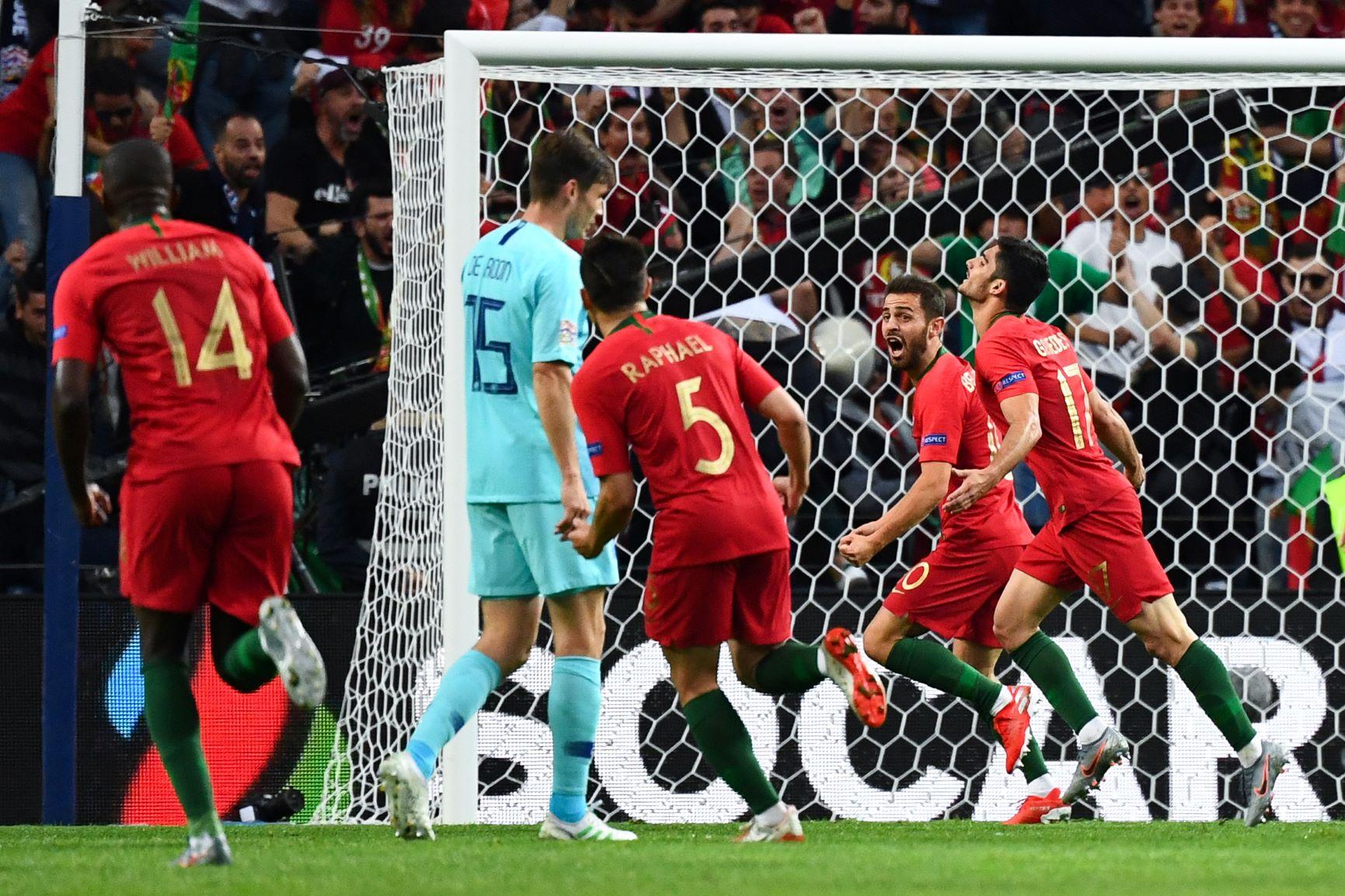 Portugal logró su segundo título oficial al vencer a Holanda en la final de la Nations League