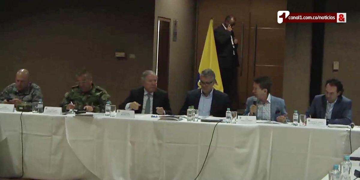 Pdte. Duque adelanta consejo de seguridad en Bello, Antioquia