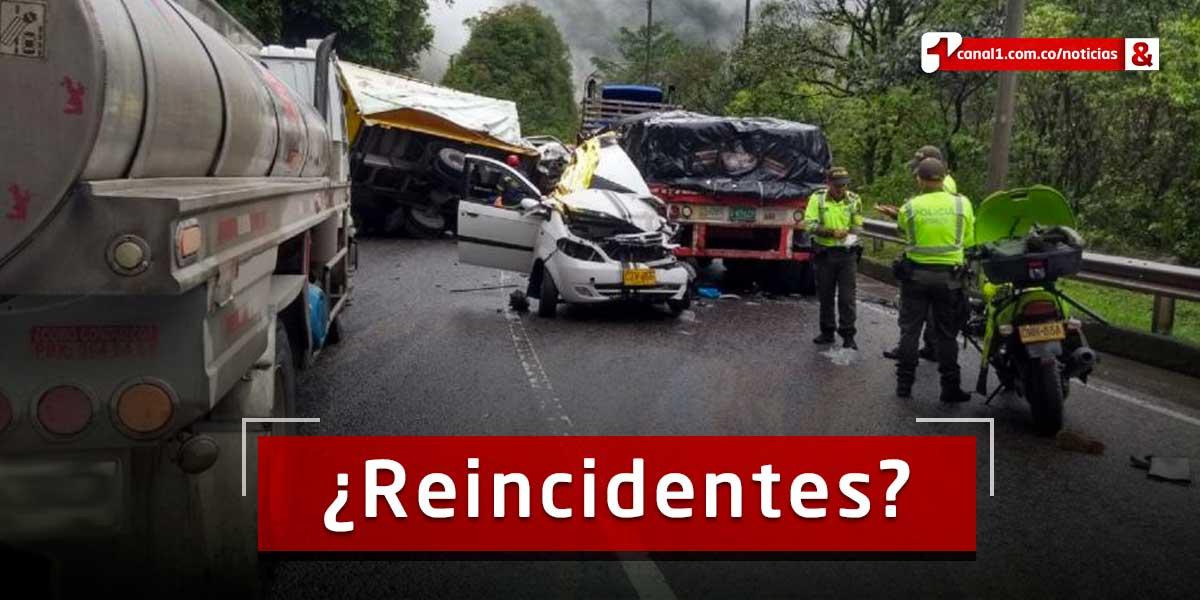 Ocho de cada 10 implicados en accidentes viales, ya tenían sanciones por exceso de velocidad