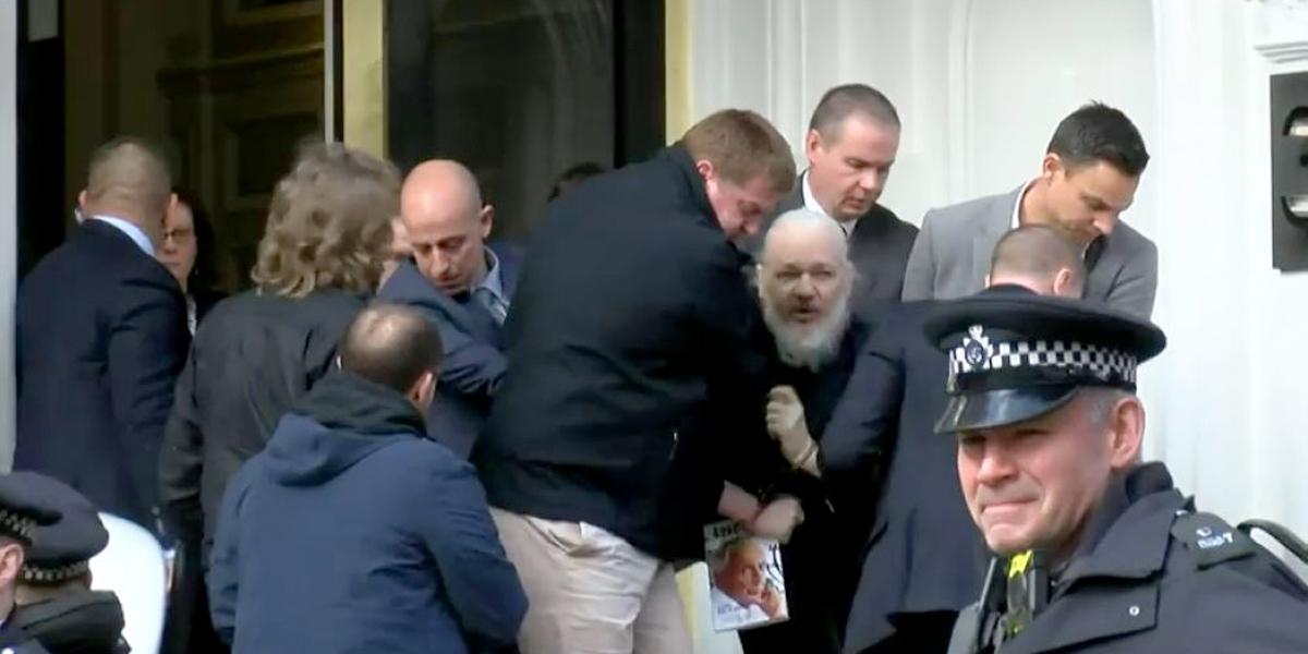 Juicio de extradición a EE. UU. de Assange empezará el 25 de febrero