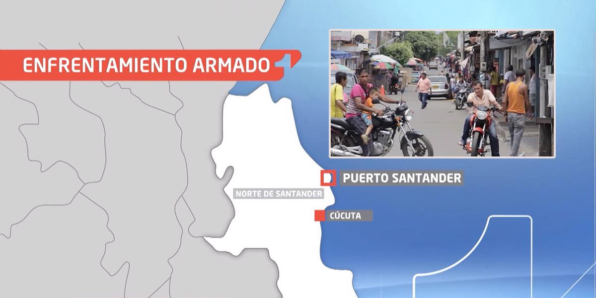 Al menos 12 muertos por fuertes enfrentamientos en la frontera con Venezuela