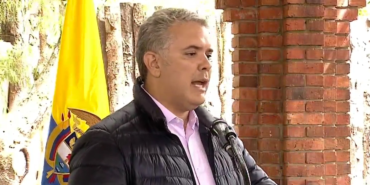 Duque dice que no se 'amarrará' a que aspirantes a fiscal general sean penalistas