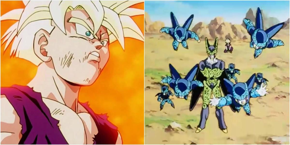 gohan cell junior batalla dragon ball z error