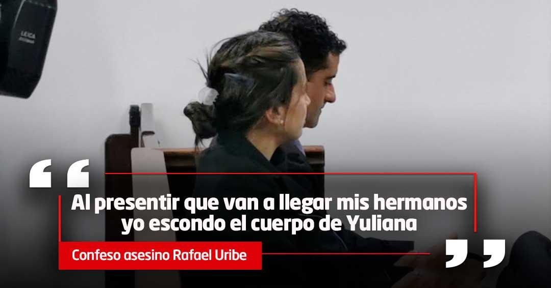 Desgarrador relato de Rafael Uribe Noguera del atroz crimen de la niña Yuliana Samboní