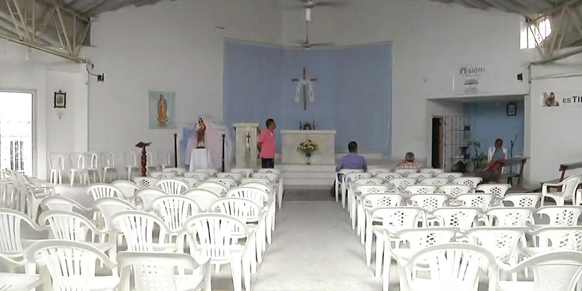Vuelve y juega: ladrones asaltan la iglesia Jesús Señor de la Vida en Barranquilla