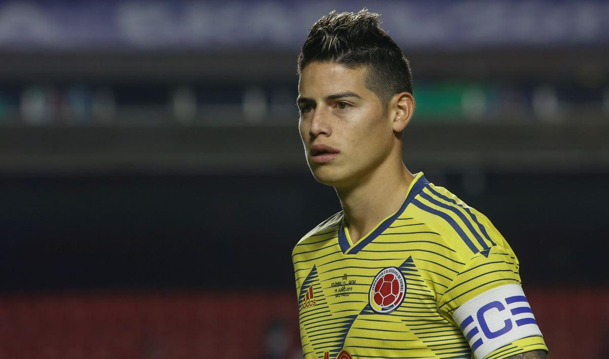 James Rodríguez volvería a España…¿al Atlético Madrid?