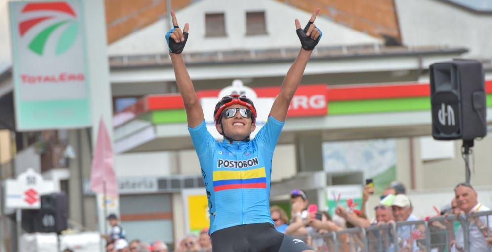 Colombianos hicieron el 1-2 en la etapa reina del Giro de Italia Sub-23