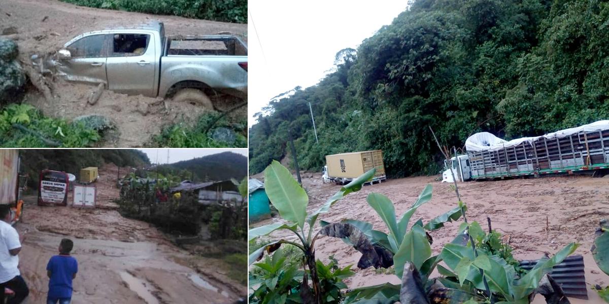 Paso restringido en vía Medellín – Costa Atlántica por derrumbes